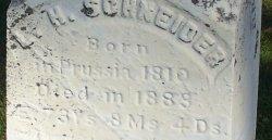 Louis Henry Schneider Wheatland Cemetery