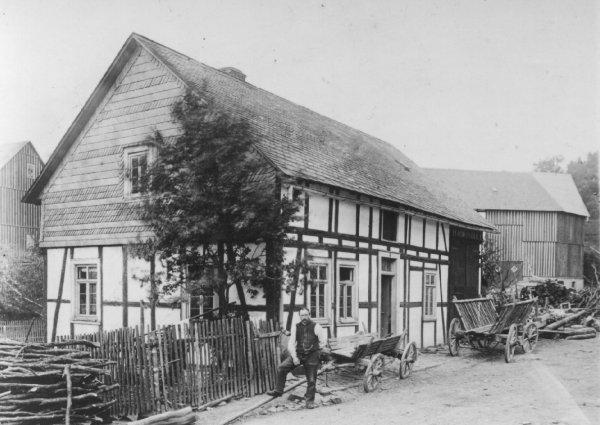 Haase/Müsse House in Wunderthausen Early 1900s