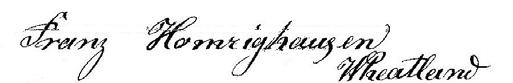 Franz H Sig